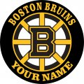Boston Bruins iron on transfer