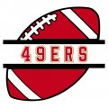 Football San Francisco 49ers Logo iron on transfer