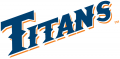 Cal State Fullerton Titans 1992-2009 Wordmark Logo 03 decal sticker