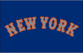 New York Mets 2014-Pres Jersey Logo 01 decal sticker