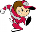 Ohio State Buckeyes 1995-2002 Mascot Logo 01 iron on transfer