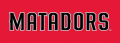 Cal State Northridge Matadors 2014-Pres Wordmark Logo 06 iron on transfer