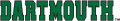 Dartmouth Big Green 2000-Pres Wordmark Logo 02 decal sticker