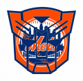 Autobots New York Mets logo iron on transfers