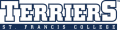 St. Francis Terriers 2001-2013 Wordmark Logo 02 iron on transfer