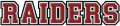 Colgate Raiders 2002-Pres Wordmark Logo 03 decal sticker