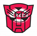 Autobots Cincinnati Reds logo iron on transfers