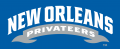 New Orleans Privateers 2013-Pres Wordmark Logo 05 decal sticker
