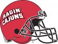 Louisiana Ragin Cajuns 2000-Pres Helmet iron on transfer
