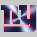 New York Giants Stainless steel logo iron on transfer
