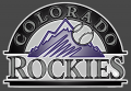 colorado rockies 1993-pres primary plastic effect logo iron on transfer