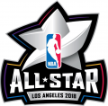 NBA All-Star Game 2017-2018 Unused decal sticker