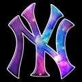 galaxy new york yankees iron on stickers