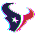 Phantom Houston Texans logo iron on transfer