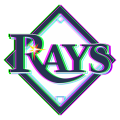 Phantom Tampa Bay Rays logo decal sticker