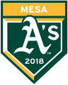 Oakland Athletics 2018 Event Logo iron on transfer