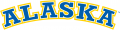 Alaska Nanooks 2000-Pres Wordmark Logo 06 decal sticker