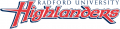 Radford Highlanders 2008-2015 Wordmark Logo decal sticker