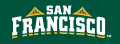 San Francisco Dons 2012-Pres Wordmark Logo 05 iron on transfer
