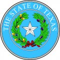 Texas Seal DIY iron on stickers (heat transfer)