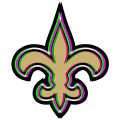 Phantom New Orleans Saints logo iron on transfer