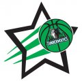Minnesota Timberwolves Basketball Goal Star decal sticker