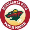 Minnesota Wild iron on transfer