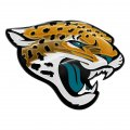 jacksonville jaguars crystal logo iron on sticker