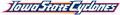 Iowa State Cyclones 1995-2007 Wordmark Logo 03 iron on transfer