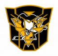 Autobots Pittsburgh Penguins logo decal sticker