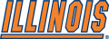 Illinois Fighting Illini 1989-2013 Wordmark Logo 01 decal sticker