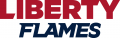 Liberty Flames 2013-Pres Wordmark Logo 01 iron on transfer