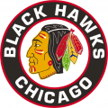 Chicago Blackhawks 1955 56-1956 57 Primary Logo iron on transfer