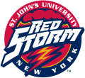 St. Johns Red Storm 1992-2001 Alternate Logo 02 decal sticker