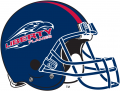 Liberty Flames 2004-2012 Helmet iron on transfer
