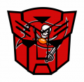 Autobots Tampa Bay Buccaneers logo decal sticker