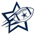 Dallas Cowboys Football Goal Star iron on transfer