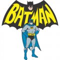 Batman DIY iron on stickers (heat transfer) version 4