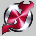 New Jersey Devils Stainless steel logo decal sticker