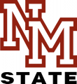 New Mexico State Aggies 1986-2005 Alternate Logo 03 decal sticker