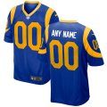 Los Angeles Rams Custom Letter and Number Kits For Royal Jersey 01
