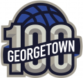 Georgetown Hoyas 2007 Anniversary Logo decal sticker