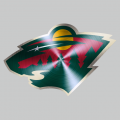 minnesota wild Stainless steel logo decal sticker