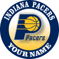 Indiana Pacers iron on transfer