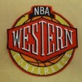 NBA Western Conference Logo Embroidered Iron On Patches