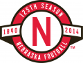 Nebraska Cornhuskers 2014 Anniversary Logo decal sticker