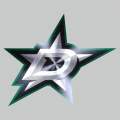 Dallas Stars Stainless steel logo decal sticker