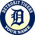Detroit Tigers iron on transfer