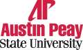 Austin Peay Governors 1992-2013 Alternate Logo decal sticker