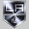 Los Angeles Kings Stainless steel logo decal sticker